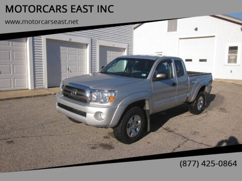 2009 Toyota Tacoma for sale at MOTORCARS EAST INC in Derry NH