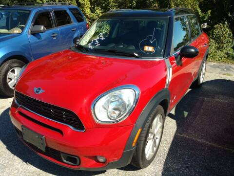 2013 MINI Countryman for sale at Auto Brokers of Milford in Milford NH