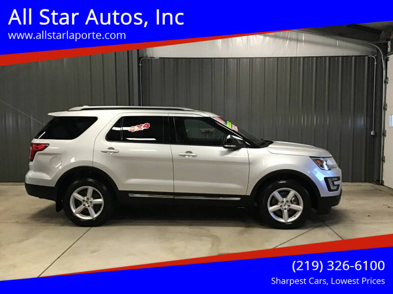 2017 Ford Explorer for sale at All Star Autos, Inc in La Porte IN