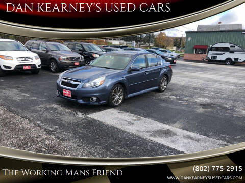 2014 Subaru Legacy for sale at DAN KEARNEY'S USED CARS in Center Rutland VT