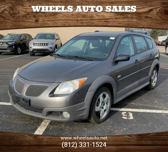 2008 Pontiac Vibe for sale at Wheels Auto Sales in Bloomington IN
