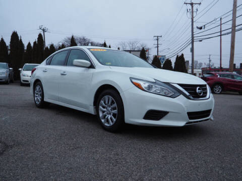 2017 Nissan Altima for sale at East Providence Auto Sales in East Providence RI