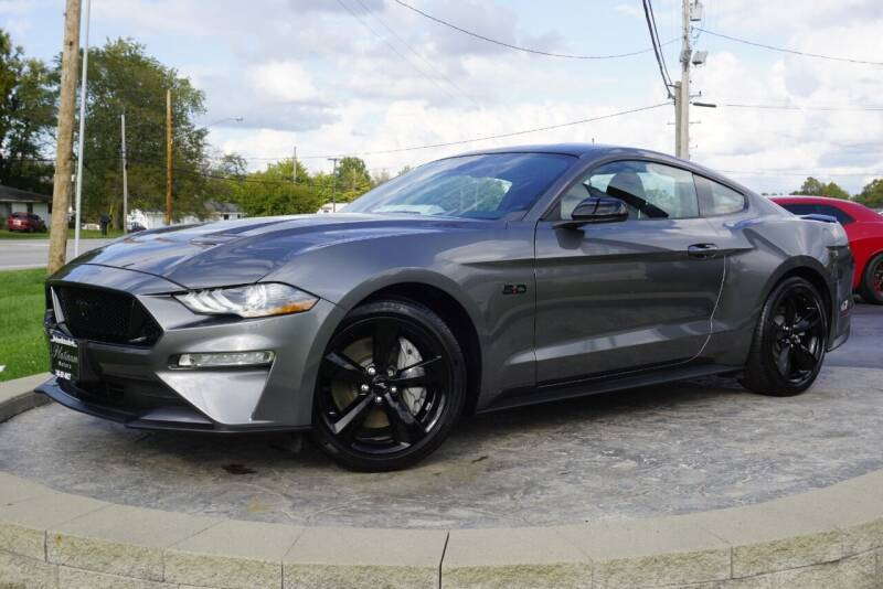 2021 Ford Mustang for sale at Platinum Motors LLC in Heath OH