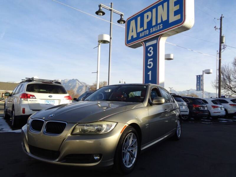 2010 BMW 3 Series for sale at Alpine Auto Sales in Salt Lake City UT
