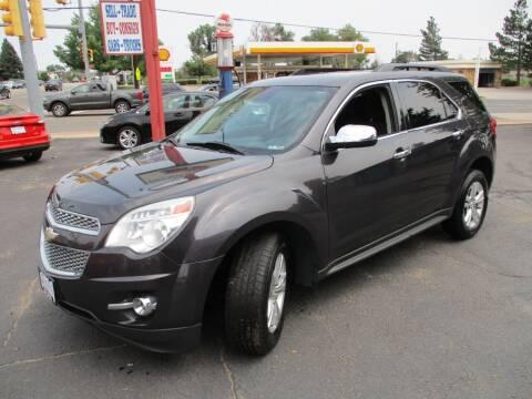 2013 Chevrolet Equinox for sale at Premier Auto in Wheat Ridge CO