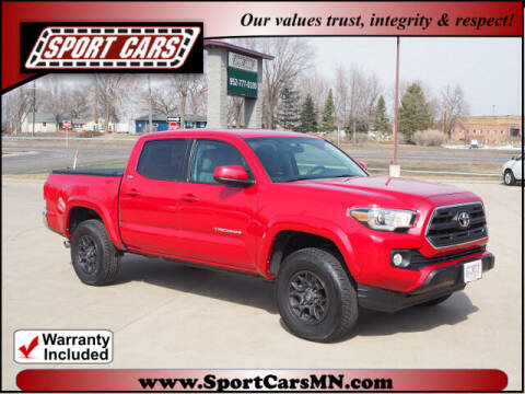 2017 Toyota Tacoma for sale at SPORT CARS in Norwood MN