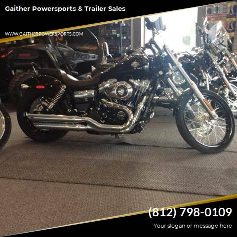 2015 Harley-Davidson FXDWG  Wide Glide for sale at Gaither Powersports & Trailer Sales in Linton IN