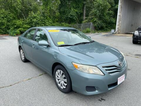 2010 Toyota Camry for sale at Gia Auto Sales in East Wareham MA