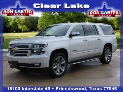2015 Chevrolet Suburban for sale at Ron Carter  Clear Lake Used Cars in Houston TX