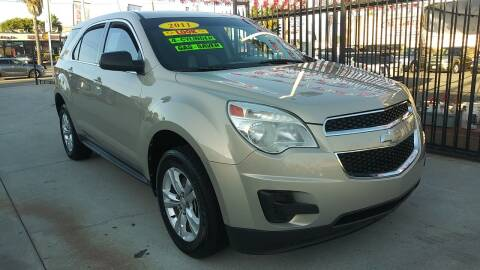 2011 Chevrolet Equinox for sale at El Guero Auto Sale in Hawthorne CA