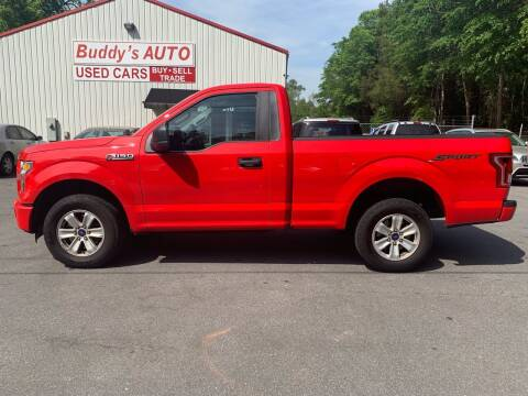 2016 Ford F-150 for sale at Buddy's Auto Inc in Pendleton SC