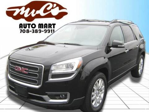 2016 GMC Acadia for sale at Mr.C's AutoMart in Midlothian IL