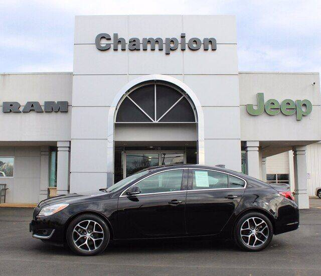 2017 Buick Regal for sale at Champion Chevrolet in Athens AL