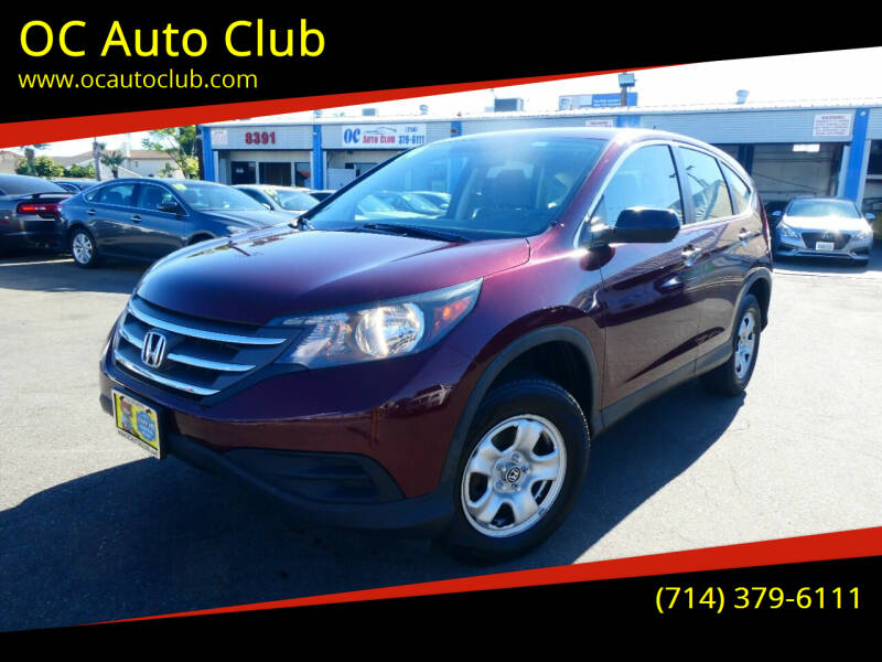 2014 Honda CR-V for sale at OC Auto Club in Midway City CA