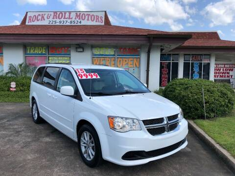 2015 Dodge Grand Caravan for sale at Rock & Roll Motors in Baton Rouge LA