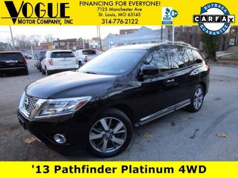 2013 Nissan Pathfinder for sale at Vogue Motor Company Inc in Saint Louis MO