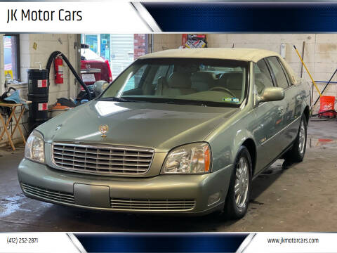 2005 Cadillac DeVille for sale at JK Motor Cars in Pittsburgh PA
