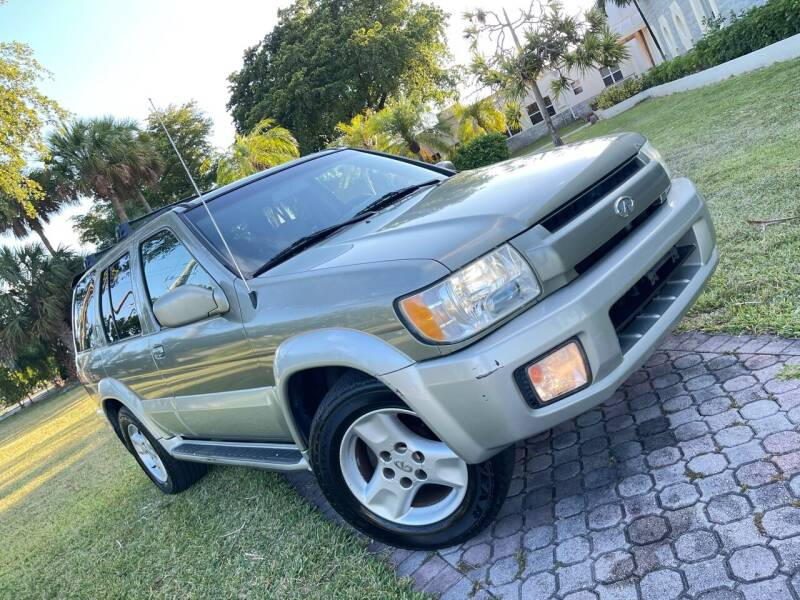 2003 Infiniti QX4 for sale at Citywide Auto Group LLC in Pompano Beach FL