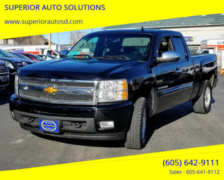 2013 Chevrolet Silverado 1500 for sale at SUPERIOR AUTO SOLUTIONS in Spearfish SD