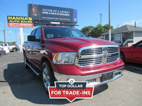 2015 RAM Ram Pickup 1500 for sale at Hanna's Auto Sales in Indianapolis IN
