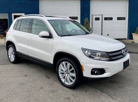 2013 Volkswagen Tiguan for sale at Saugus Auto Mall in Saugus MA