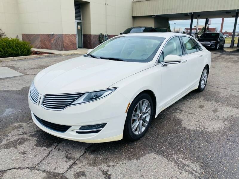 2013 Lincoln MKZ Hybrid for sale at Big Three Auto Sales Inc. in Detroit MI