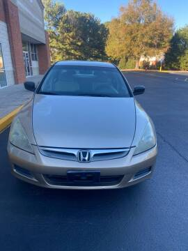 2007 Honda Accord for sale at Dalia Motors LLC in Winder GA