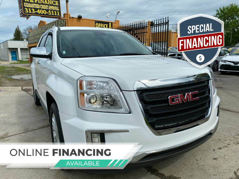 2016 GMC Terrain for sale at 3 Brothers Auto Sales Inc in Detroit MI