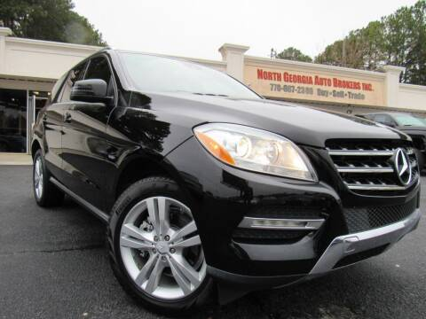 2012 Mercedes-Benz M-Class for sale at North Georgia Auto Brokers in Snellville GA