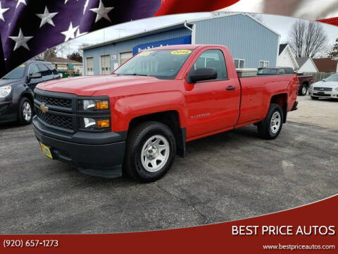 2014 Chevrolet Silverado 1500 for sale at Best Price Autos in Two Rivers WI