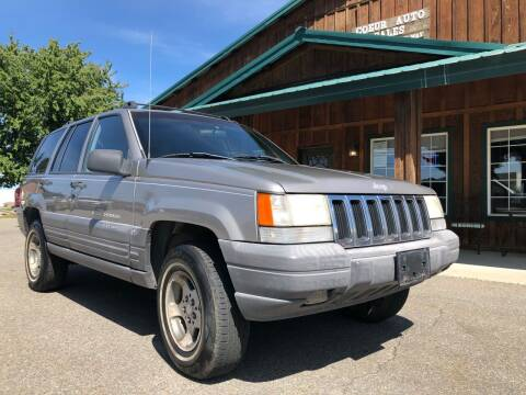 1998 Jeep Grand Cherokee for sale at Coeur Auto Sales in Hayden ID