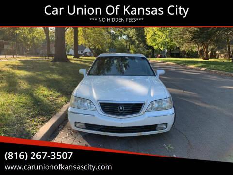 2002 Acura RL for sale at Car Union Of Kansas City in Kansas City MO