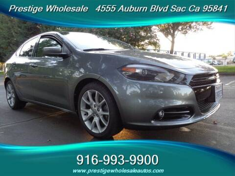 2013 Dodge Dart for sale at Prestige Wholesale in Sacramento CA