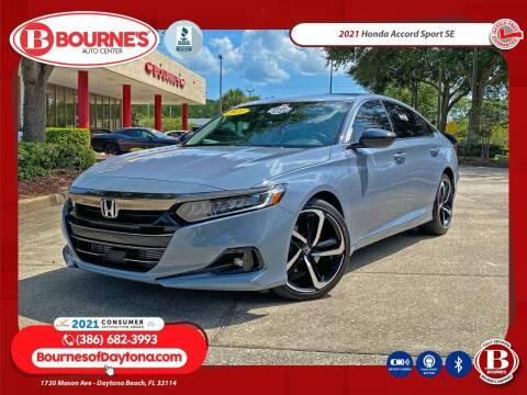 2021 Honda Accord for sale at Bourne's Auto Center in Daytona Beach FL
