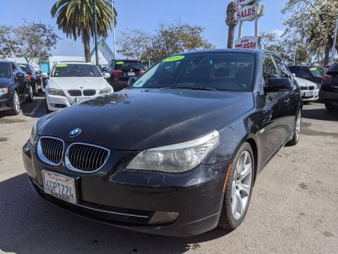 2009 BMW 5 Series for sale at Convoy Motors LLC in National City CA