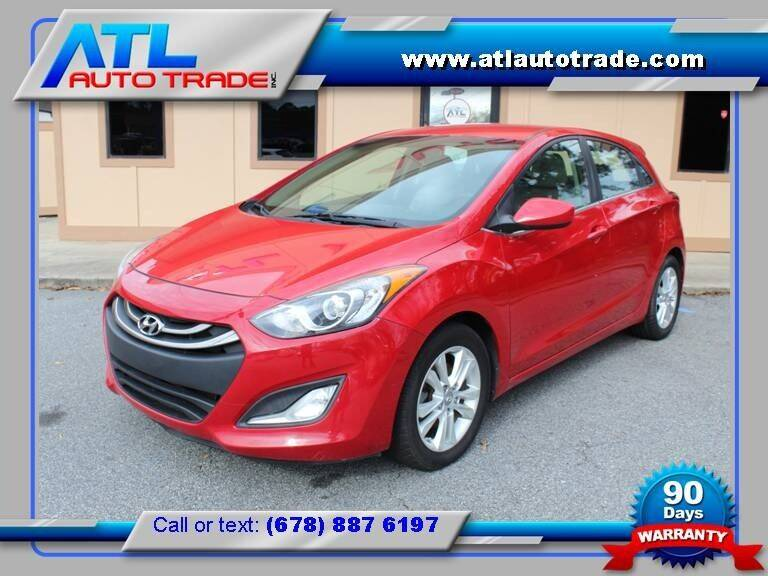 2013 Hyundai Elantra GT for sale at ATL Auto Trade, Inc. in Stone Mountain GA