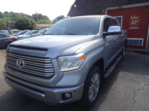 2014 Toyota Tundra for sale at AP Automotive in Cary NC