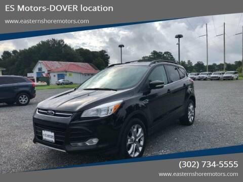 2013 Ford Escape for sale at ES Motors-DAGSBORO location - Dover in Dover DE