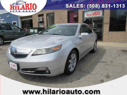 2013 Acura TL for sale at Hilario's Auto Sales in Worcester MA