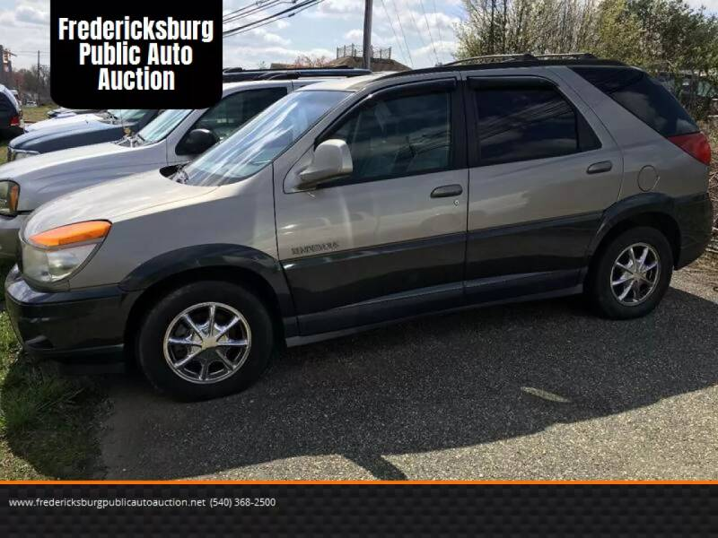 2002 Buick Rendezvous for sale at FPAA in Fredericksburg VA