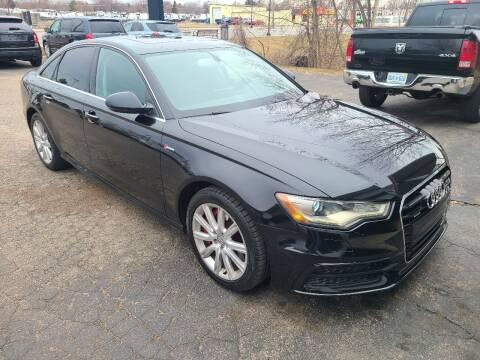2013 Audi A6 for sale at Van Kalker Motors in Grand Rapids MI