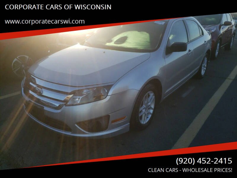 2012 Ford Fusion for sale at CORPORATE CARS OF WISCONSIN - DAVES AUTO SALES OF SHEBOYGAN in Sheboygan WI