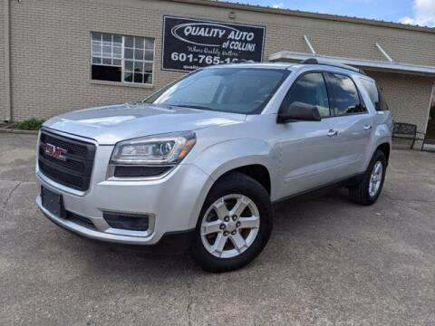 2015 GMC Acadia for sale at Quality Auto of Collins in Collins MS