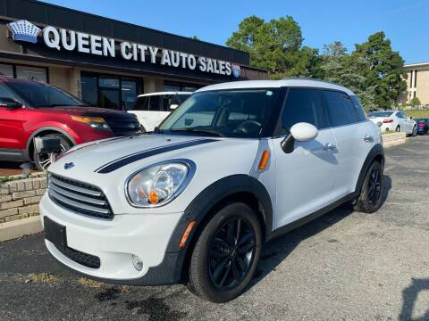 2013 MINI Countryman for sale at Queen City Auto Sales in Charlotte NC