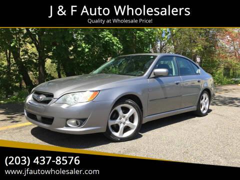 2008 Subaru Legacy for sale at J & F Auto Wholesalers in Waterbury CT