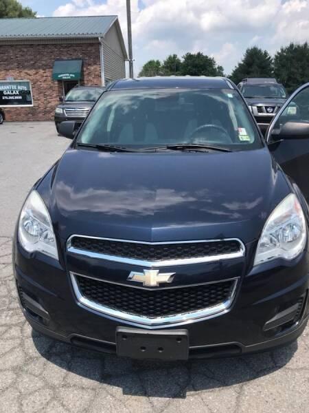 2015 Chevrolet Equinox for sale at Guarantee Auto Galax in Galax VA