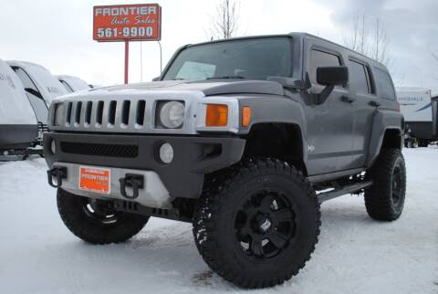 2008 HUMMER H3 for sale at Frontier Auto & RV Sales in Anchorage AK