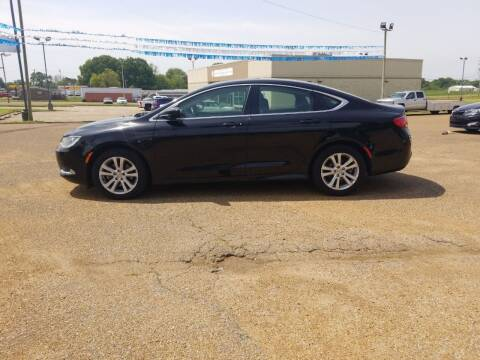 2015 Chrysler 200 for sale at Frontline Auto Sales in Martin TN