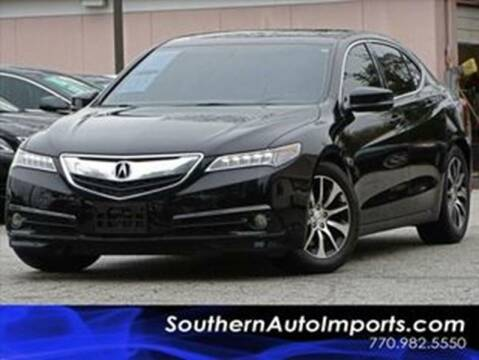 2016 Acura TLX for sale at Used Imports Auto - Southern Auto Imports in Stone Mountain GA