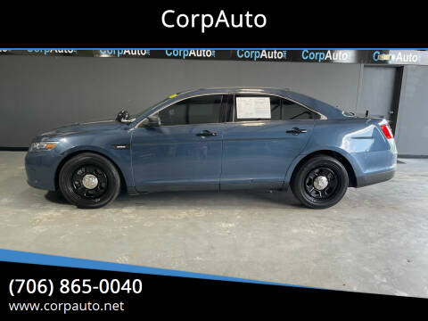 2016 Ford Taurus for sale at CorpAuto in Cleveland GA